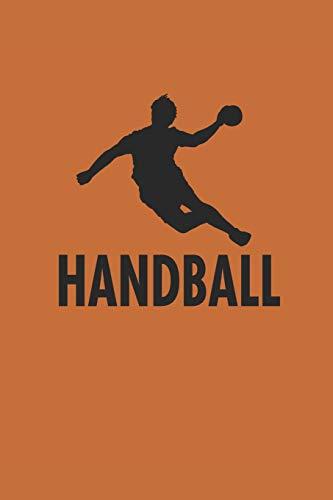 Handball: Notebook für Handball Spieler Punkteraster Bullet Journal 6x9