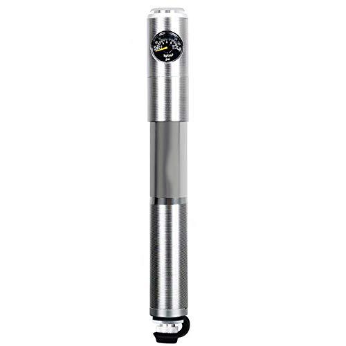 WYYJXZ Tragbare Mini-Fahrradpumpe, Hochdruckmessgerät Mit Präzisions-Gasflasche Einbau Rohr, Für Spielzeug Rennrad Startseite