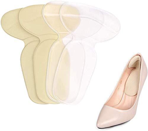 Zhaoyun 2 Pares Cojín balatas de taloneras apretones, Zapatos Botas de Tacones Altos de Inserciones for Las Mujeres movibles del Gel Plantillas Liners (Color : Heel Pad)