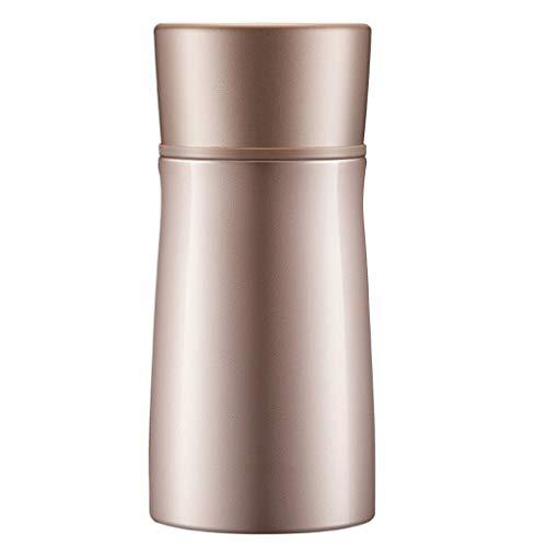 Thermos Soep Fles Met Lepel vacuümgeïsoleerde Dichte Soup/etensketeltje Stainless Steel for Voor Student volwassenen (Color : Gold)