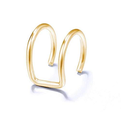 Pendientes De Anzuelo Moda Clip-On Pendientes Ladies Pendientes De Cristal No Perforados Chicas-Gramo