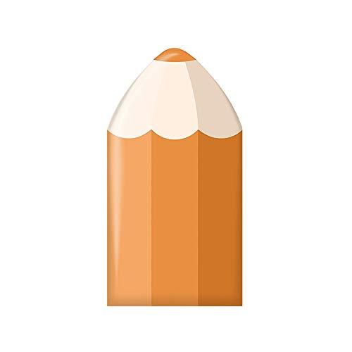 Zelfklevende muursticker, anti-botsing hoge dichtheid spons waterdichte PU, kleur potlood kinderen anti-botsing hek Tatami nachtkastje muur Baby veiligheid achtergrond muur 2 stuks 25X50CM #7