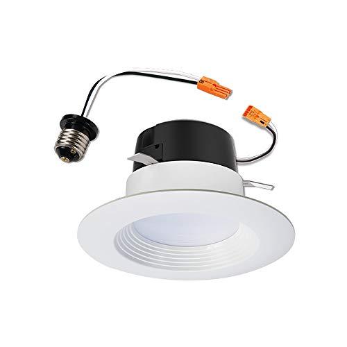 Halo LT460WH6927R LT4 Integrated LED Recessed Ceiling Light Retrofit Trim, 4 inch, 2700K Warm White