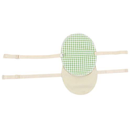 VANKOA 1 Par De Almohadillas Para El Sudor De Las Axilas Para Niñas Axila Lavable Absorción Del Sudor Invisible - Rejilla verde claro