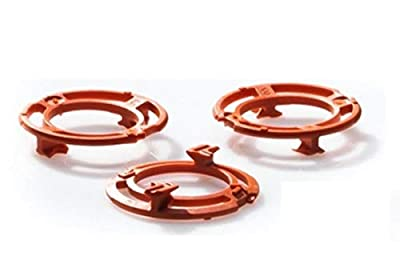 Lock-Ring (Retaining-Plate, Holder) for Philips Shaving Heads Model/Type SH70 and SH90 (Colour Orange). Shaver Series S7000 S9000