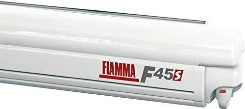 Fiamma Markise F45s Polar White 350cm Royal Blue Sonnenschutz Fahrzeug Wohnwagen Vordach Sonnensegel