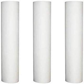 Desineo Lot de 3 Recharges Anti-sédiment 20 microns pour Porte Filtre 9-3/4-10 Pouces