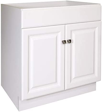 Design House 597153 Wyndham Unassembled Bathroom Vanity Cabinet without Top 30 x 24 White product image