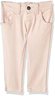 Giggles Solid Side-Pocket Belt-Loop Jeans for Girls