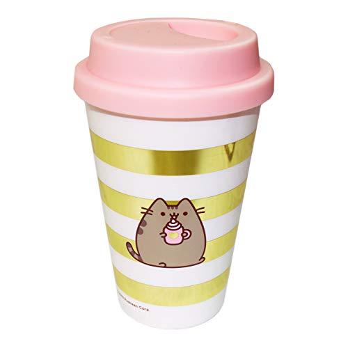 Pusheen – Travel Mug | Reusable Coffee Cup | 370ml | Sweet & Simple