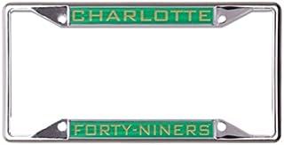 Wincraft Snack Schale NCAA Universität North Carolina Charlotte 49ers 6x 12eingelegten Acryl/Metall Nummernschild Rahmen