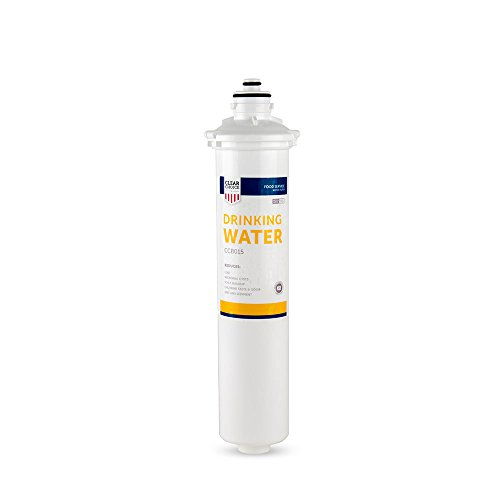 Clear Choice Drinking Water Filtration System Replacement Cartridge for Everpure 2-HL EV9592-01 EV9720-06 H-54 S-54 Also Compatible with Nu Calgon 9618-07 9619-06, BevGuard BGE-3200, 1-Pack