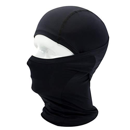 フェイスマスク フェイスカバー 自転車 防寒マスク uvカット UPF50+ 目出し帽 吸汗 速乾 防寒 防風 防塵 バイク 自転車 スポーツ 息苦しくない フェイスマスク