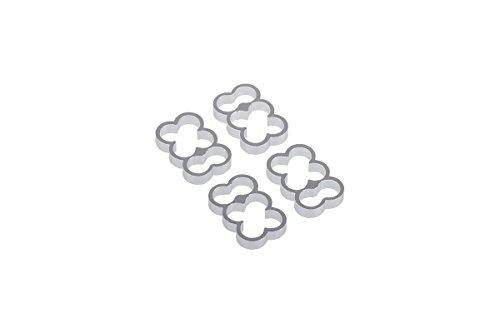 Alphacool 24770 Eiskamm Alu X6-4mm Silver - 4 Stück Modding Eiskamm