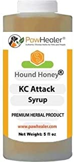 PawHealer Kennel Cough Syrup: Hound Honey - (5 fl oz) Natural Herbal Remedy for Symptoms of Kennel Cough - Tastes Good - Easy to Administer
