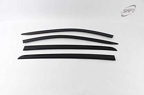 Kyoungdong Smoke Tinted Black shop Side Sun Window Deflector Excellence Weather
