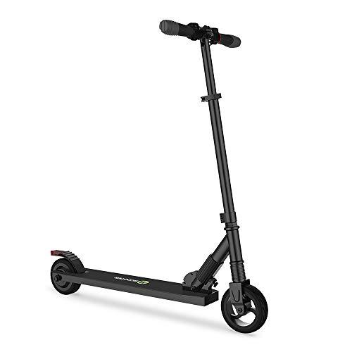 Mtricscoto Monopattino Elettrico, Pieghevole Scooter Leggero Altezza Regolabile, 250W 23km h Massima velocità, per Adulto Pendolarismo Bambini Regalo Nero