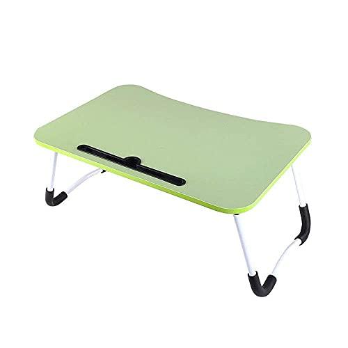 Mesa Plegable Mesa para Ordenador Mesa Plegable para Ordenador portátil Sofá Mesa Auxiliar para Aprender a Leer, Mesa Auxiliar para Cama supletoria Mesa para niños