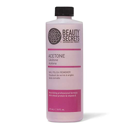 Beauty Secrets Acetone Nourishing Nail Polish Remover