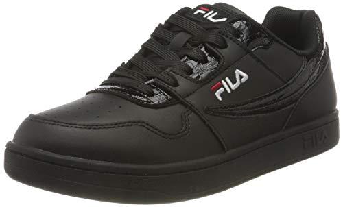 FILA Arcade F wmn Sneaker Donna, Nero (BlackXBlack), 36 EU