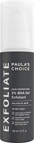 Paula's Choice Skin Perfecting Gel Exfoliante 2% BHA - Peeling Facial Combate los Granitos y los Puntos Negros - con Ácido Salicílico & Bisabolol - Todos Tipos de Piel - 100 ml