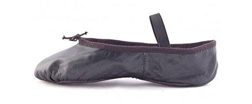 Bloch 209 Arise Lederschläppchen mit ganzer Sohle - Schwarz - Größe 38 - C Ausstattung