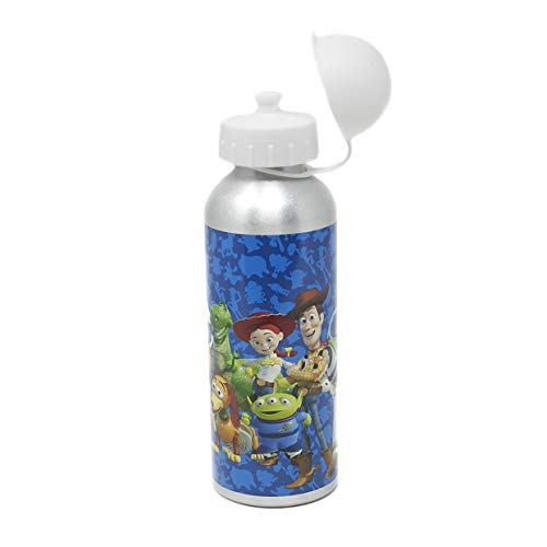 Toy Story - Botella de aluminio (500 ml), color azul