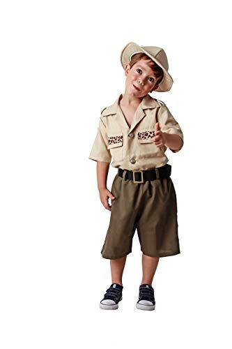 Costumizate! Disfraz de Explorador talla 5-6 especial para niños fiestas de disfraces o carnaval