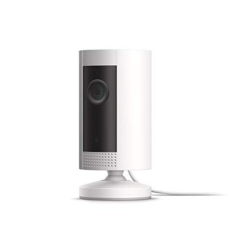 Ring Indoor Cam, Compact Plug-In HD security camera with two-way talk, White, Works...