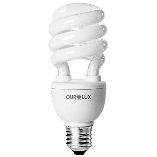 Lampada Eletronica Espiralux 11w 127v Ourolux