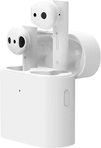 Xiaomi Mi Air 2S Véritables écouteurs sans Fil, écouteurs TWS pour iOS/Android, Chargement sans Fil, Temps de Lecture 24 Heures, avec étui de Chargement