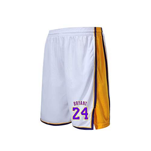 GBYN - Basketball-Bekleidungssets für Herren in White, Größe XXX-Large