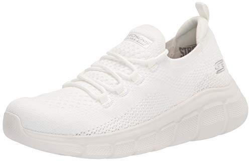 Skechers Damen 117121-WHT_38 Sports Shoes,Sneakers, White, EU