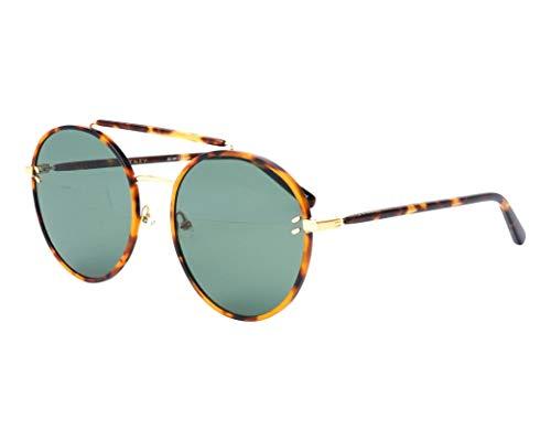 Stella McCartney SC-0134-S 003 Havana - Gafas de sol, color dorado y verde