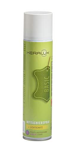 KERALUX N Imprägnierspray mit Lichtschutz für Nubuk, Velours und Wildleder 400 ml