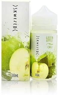 SKWEZED スクイーズ Green Apple グリーンアップル フルーツ 果物 電子タバコ VAPE リキッド ノンニコチン ノンタール 100ML 0MG