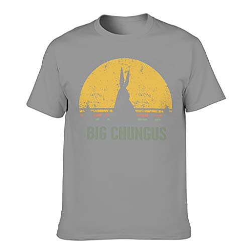 Camiseta elástica para hombre, diseño de Big Chungus Gris oscuro. XXXXXXL