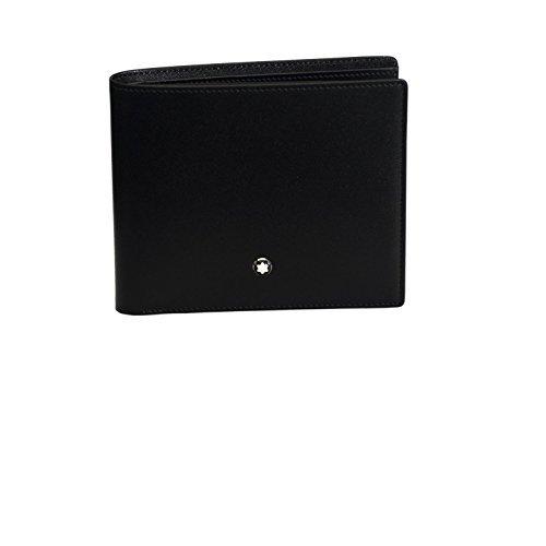Montblanc MEISTERSTÜCK Brieftasche No. 14095 14095 Unisex - Erwachsene Portemonnaies, NA schwarz (NA)