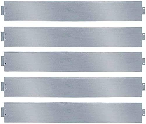 Einfeben Rasenkante 5m 100x14cm Metall Beetumrandung verzinkt Mähkante Beeteinfassung - Länge 5m Höhe 14cm Palisade