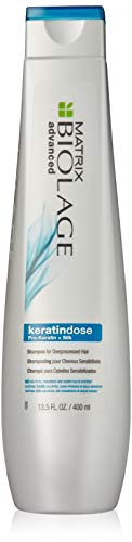 BIOLAGE Advanced Keratindose Shampoo For Overprocessed Damaged Hair, Sulfate Free, 13.5 Fl. Oz.