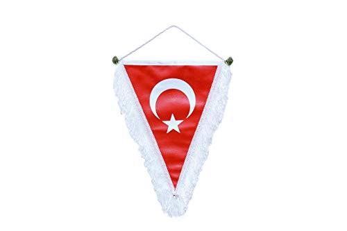 Gök-Türk Fahne Bayrak Fußball Fußball Ay Yildiz Türkische Flagge Halbmond mit Stern -Rot - aus Kunstleder