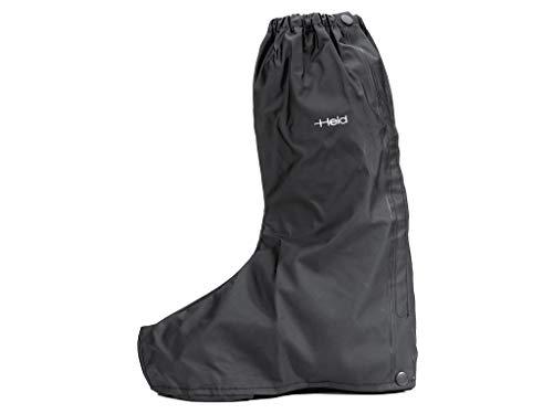 Held Regen-Überstiefel offener Laufsohle schwarz, schwarz, L