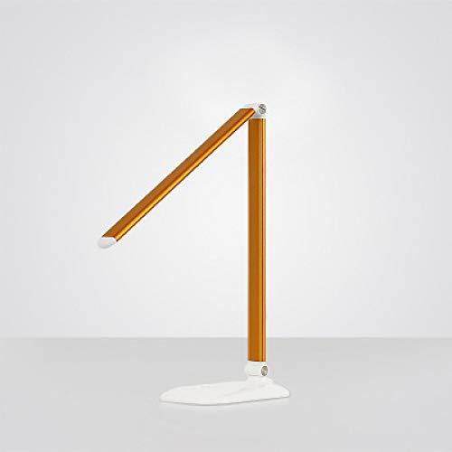 YQHWLKJ Plegable 5W Lámpara de mesa LED portátil con luz de protección para los niños Lámpara de escritorio Luz de libro táctil para estudio Lámpara de luz led
