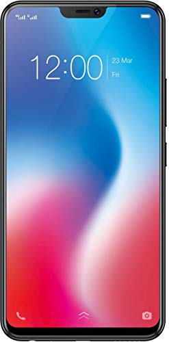 Vivo V9 4GB / 64GB 6.3-inches Dual SIM Factory Unlocked - Taiwan Stock No Warranty (Pearl Black)