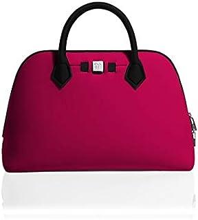 59ceab0b SAVE MY BAG - Bolso de asas para mujer Morado burdeos 36x26x16cm