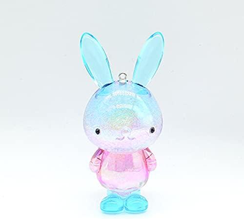VOOP Acrylic Rabbit Colorful Fashion New Free Shipping Max 79% OFF Figur CuteToy Bunny Cartoon