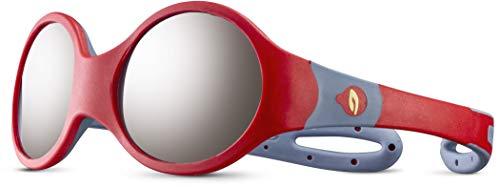 Julbo Loop M - Gafas de sol para niños, color rojo, gris, 1-3 años