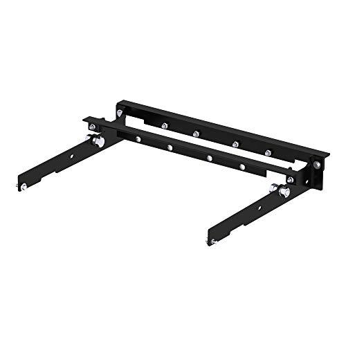 CURT 60636 Under-Bed Gooseneck Installation Brackets, Select Ford F-150, F-250, F-350, Black