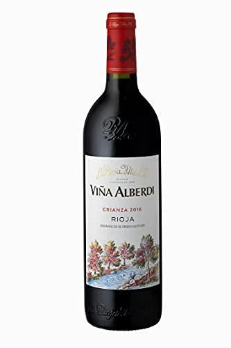 Viña Alberdi - Vino Tinto D.O.C Rioja Alta Crianza Tempranillo - Añada 2016 - Pack Estuche 6 Botellas de 75 cl