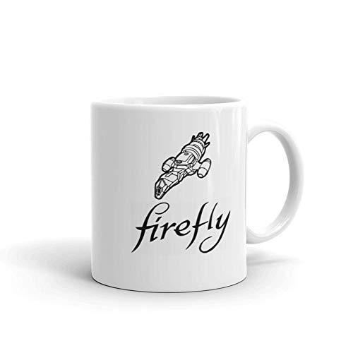 NA Tazas de cerámica Firefly Serenity Movie Scifi Film Malcolm-Reynolds River-Tam Inara-Serra Regalos Taza de café Divertida Tazas de té 11 oz